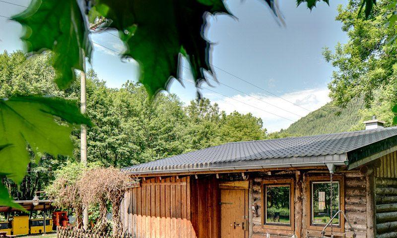 Urige Bergmannshütte